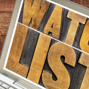 The Best Way to Develop Your Watchlist